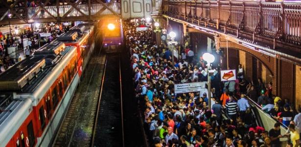 Ferroviários de SP entram em greve a partir desta quarta-feira (2) - Cris Faga/Fox Press Photo/Estadão Conteúdo
