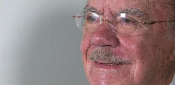 O ex-presidente José Sarney, que se encontrou com Temer para pedir que o MinC não seja extinto