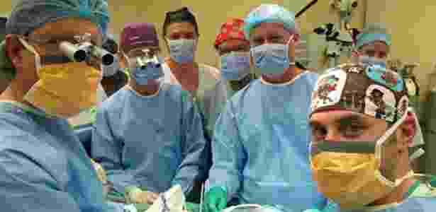 Médicos da Universidade de Stellenbosch realizaram com sucesso o primeiro transplante de pênis na Cidade do Cabo, na África do Sul  - Stellenbosch University
