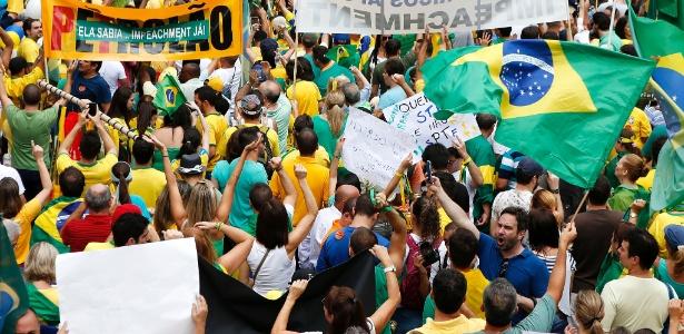 Quatro mil pessoas chegam ao protesto de SP a cada 2 minutos, diz PM - Junior Lago/UOL