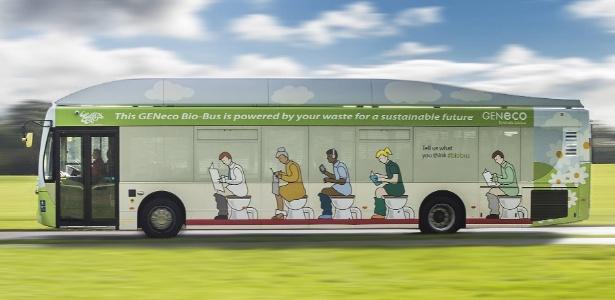 Bio-bus, ônibus britânico movido a cocô