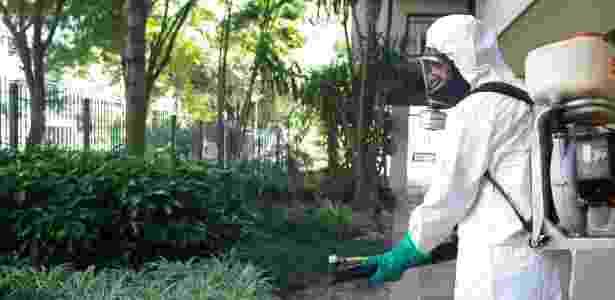 Fumacê Aedes - Betina Carcuchinski/PMPA - Betina Carcuchinski/PMPA