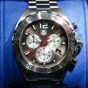 4a10228f304 Relógio da fabricante suíça Tag Heuer é exposto durante feira Baselworld