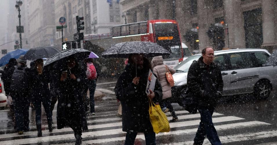 Armario Fernando ~ Nova York e litoral nordeste dos EUA sofrem nevasca no 1 u00ba
