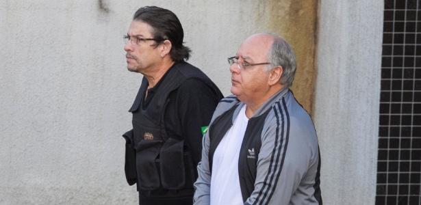 O ex-diretor de Serviços da Petrobras Renato Duque deixa a custódia da Polícia Federal em Curitiba (PR)