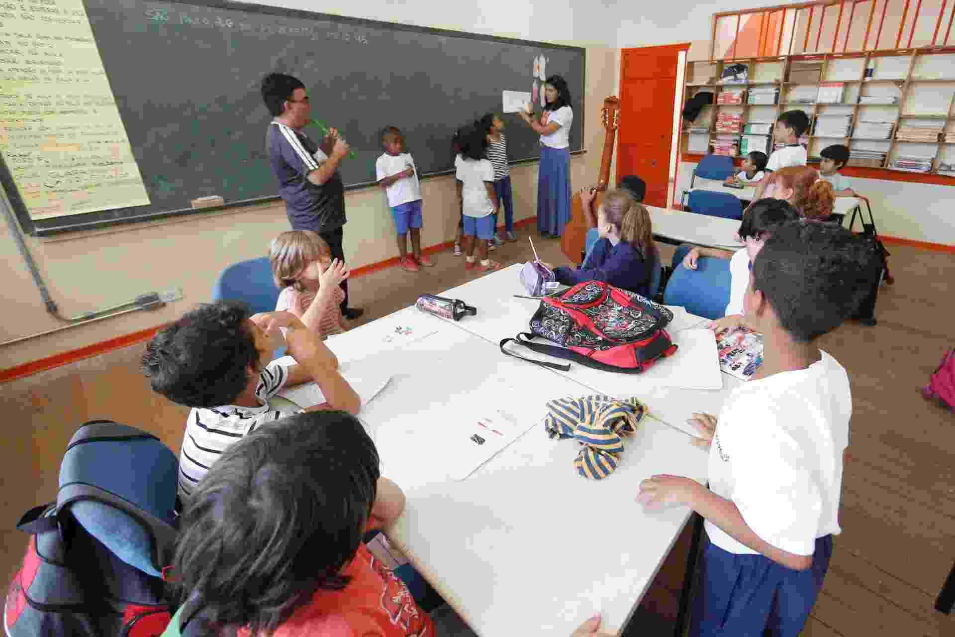 Emef (Escola Municipal de Ensino Fundamental) Desembargador Amorim Lima - Junior Lago/UOL