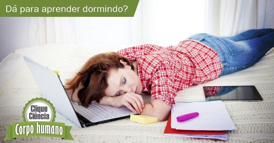 Clique Ciência: dá para aprender dormindo?