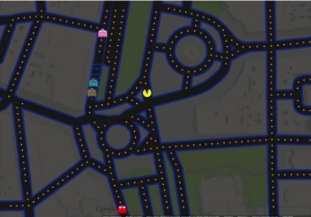 """""""Pac-Man"""" ganha missão pelas ruas do Google Maps; saiba como entrar nessa brincadeira"""