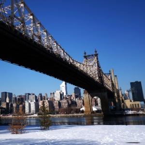 A ponte do Queens, em Nova York (EUA)