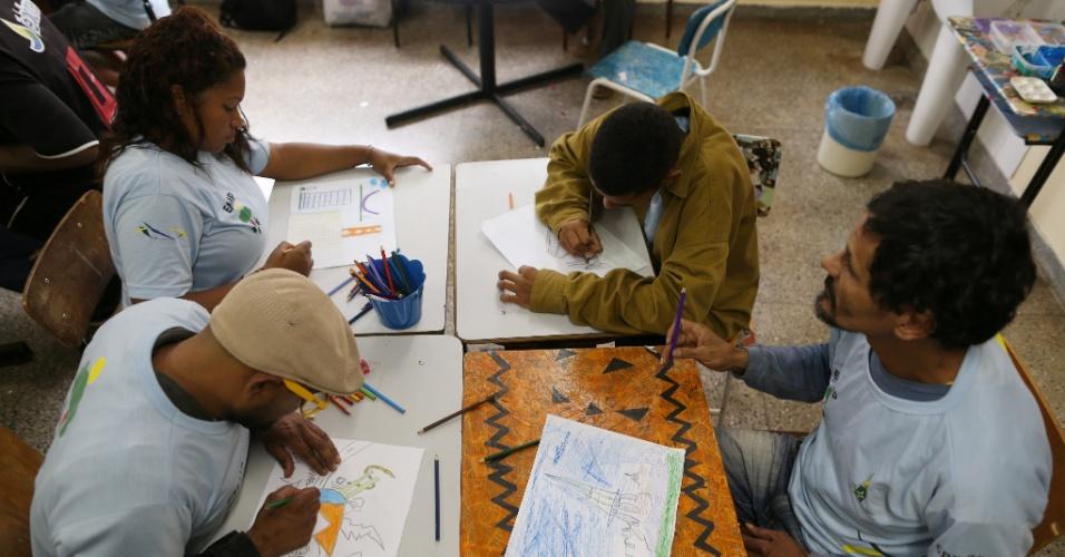 A Escola de Meninos e Meninas do Parque, a EMMP, atende alunos moradores de rua, ou que moram em abrigos do Distrito Federal, em Bras?lia.