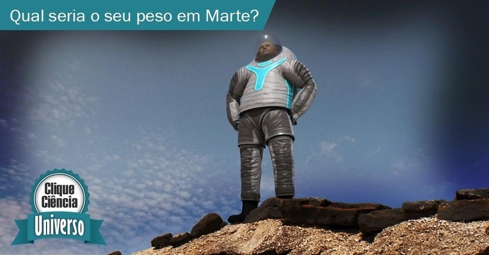 Clique Ciência: Qual o seu peso em Marte?