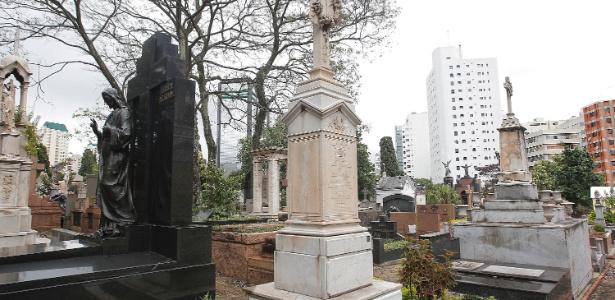 O cemitério da Consolação foi fundado em 15 de agosto de 1858 - Reinaldo Canato/UOL
