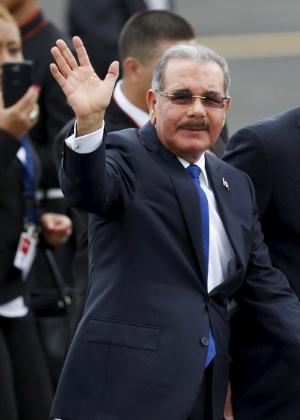 """Danilo Medina, presidente da República Dominicana, afirmou que não existem """"vacas sagradas no governo"""" - Edgard Garrido/Reuters"""