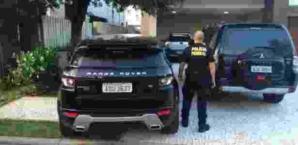 PF usou Range Rover de ex-diretor da Petrobras para prender André Vargas - Divulgação/Polícia Federal