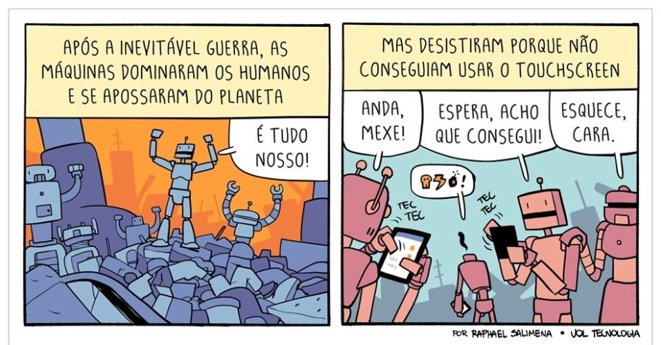 """11.abr.2015 - """"A revolução das máquinas"""""""