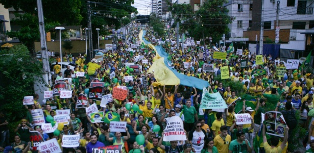Protestos reúnem cerca de 580 mil pelo país; governo e PT não comentam - Natinho Rodrigues/Divulgação