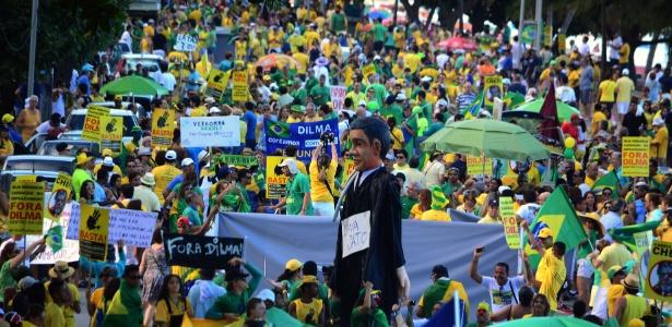 Recife: protesto termina com anúncio de aliança entre movimentos - Chico Peixoto/Leiajáimagens/Estadão Conteúdo