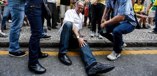 Curitiba: vereador diz ter sido agredido por manifestantes - Henry Milleo