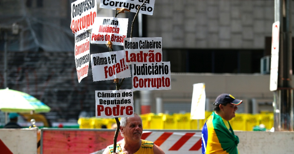 Protesto 12 de abril de 2015