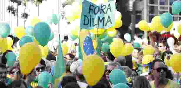 Apesar de suspeita de envolvimento em corrupção, Cunha é tido como aliado por líderes de movimentos anti-PT - Junior Lago/UOL