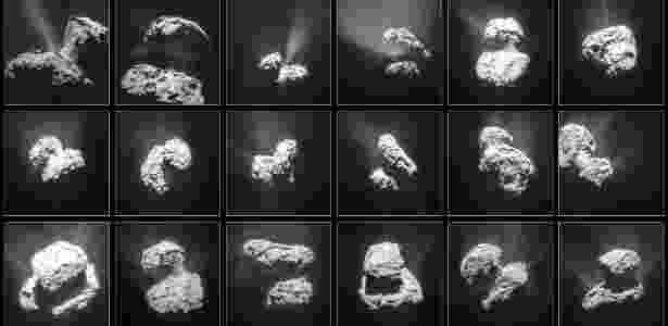 Cometa 67P - ESA/Rosetta/NAVCAM - ESA/Rosetta/NAVCAM
