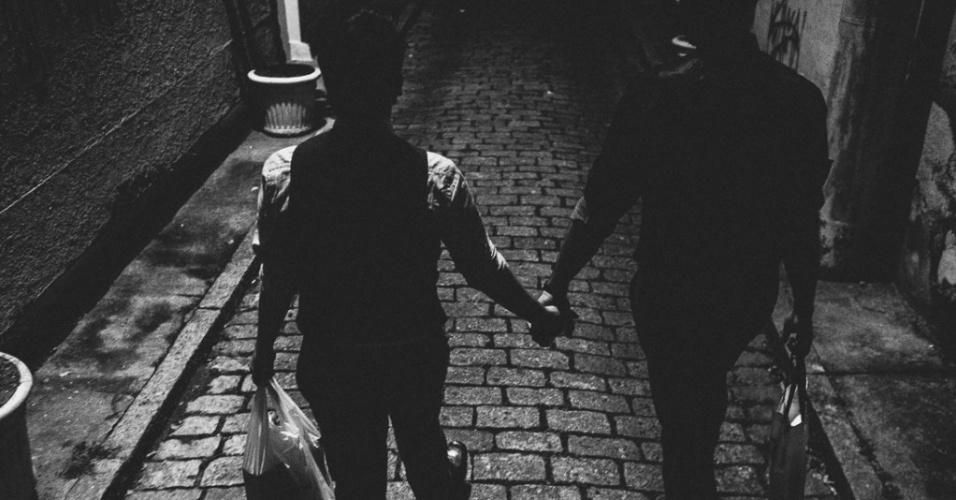Thomas e Juca organizaram a festa de casamento em menos de 40 dias. Tudo de forma bastante prática, mas com apoio de familiares e amigos. Tanto que o casal se arrumou em casa e foi a pé e de mãos dadas até o salão onde ocorreu a cerimônia em São Paulo (SP). O álbum de casamento dos dois foi eleito o melhor do ano na edição de 2015 do prêmio Wedding Best, que premia as melhores fotos de casamentos do Brasil. As fotos são do fotógrafo Rafael Karelisky