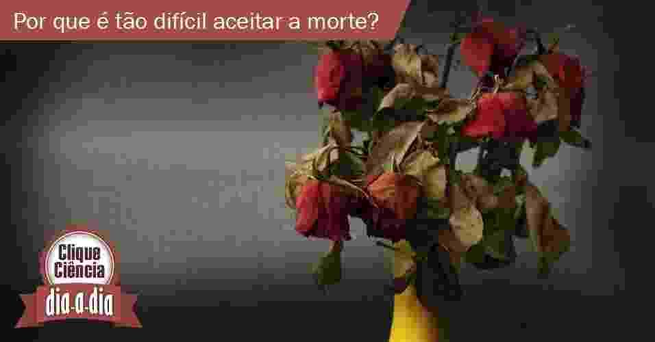 Clique Ciência: por que é tão difícil aceitar a morte? - iStock/Arte UOL