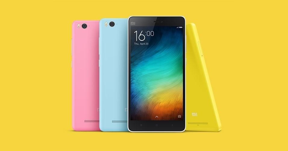 23.abr.2015 - A Xiaomi lançou nesta quinta-feira (23) seu primeiro smartphone fora da China, o Mi4i. Apresentado na Índia, o aparelho tem tela de 5 polegadas, processador octa-core (oito núcleos) de 1,7 GHz, 16 GB de armazenamento, 2 GB de memória RAM e duas câmeras (uma frontal de 5 megapixels uma traseira de 13 megapixels). O dispositivo suporta dois chips 4G e deve começar a ser vendido em 30 de abril. O smartphone tem preço sugerido de US$ 200 (cerca de R$ 600)