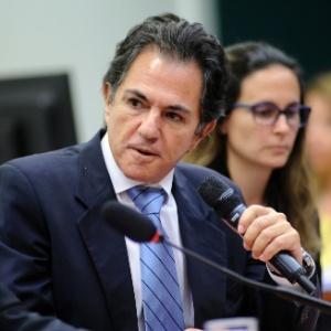 O empresário Augusto Mendonça, delator da operação Lava Jato, durante depoimento à CPI - Lucio Bernardo Jr. / Câmara dos Deputados