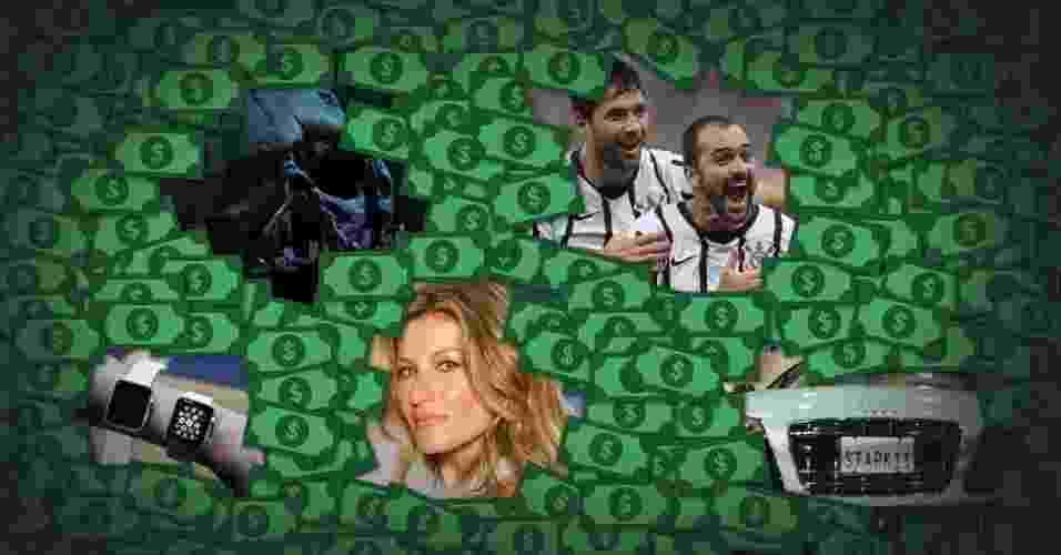 montagem para álbum de UOL Economia: O que daria para fazer com os R$ 6,2 bilhões desviados da Petrobras? - Arte/UOL