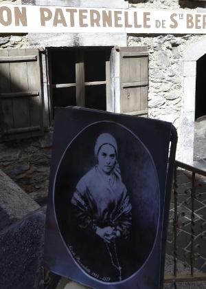 Casa dos pais de Bernadette Soubirous, a Santa Bernadette, em Lourdes - Pascal Pavani/AFP