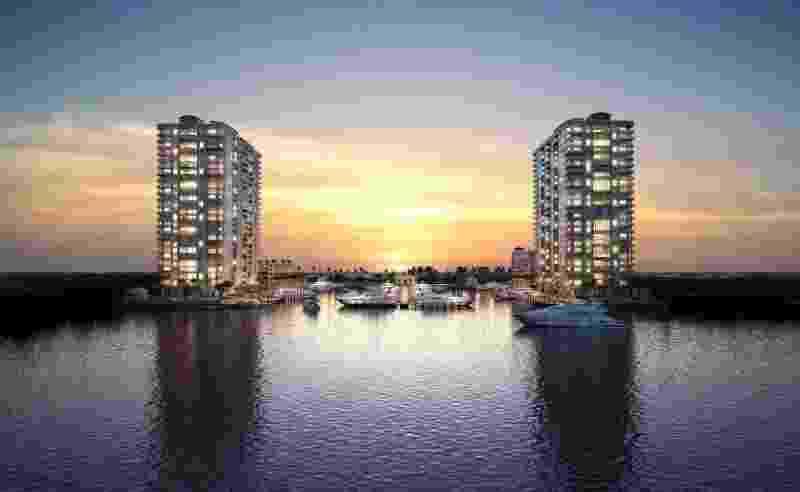 Condomínio em Miami com marina é dominado por brasileiros - Divulgação