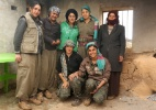Mulheres do PKK lutam contra o Estado Islâmico no Iraque - Asmaa Waguih/Reuters