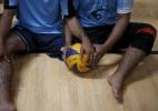 Palestinos mutilados em conflito participam de campeonato de vôlei - Suhaib Salem/Reuters
