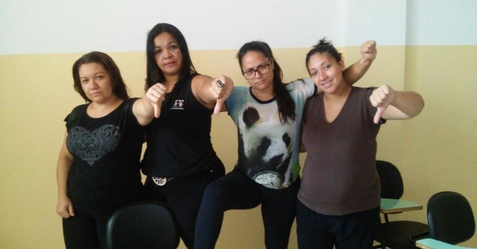 Alunas de Pedagogia da UNILAGO de São José do Rio Preto (SP)