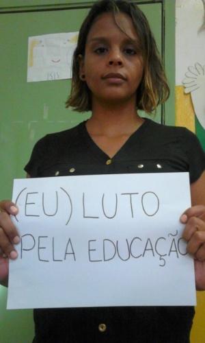 Professora Graciane Liberalino, da EMEI Cícero Antônio, de Itaquaquecetuba (SP)
