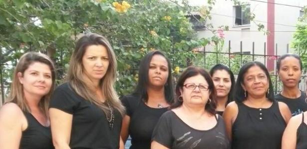 Professoras da E.M. Prof. Dyla Sylvia de Sá, no Rio de Janeiro