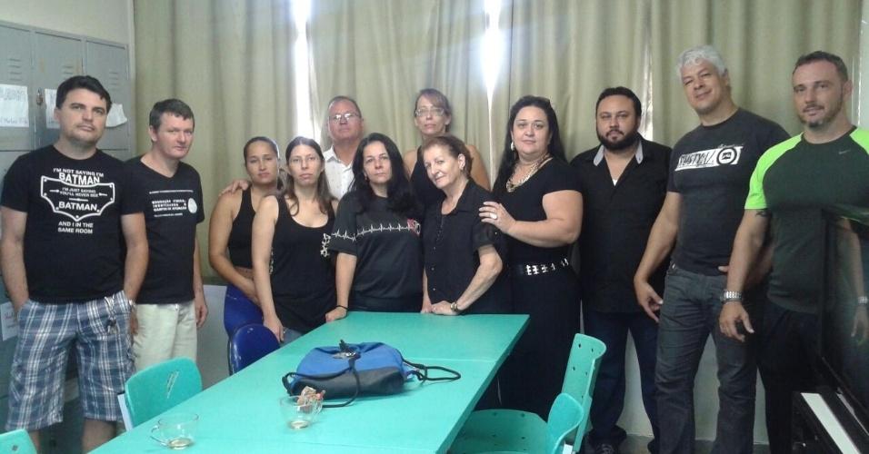 Professores da EMEF Paulo Freire, em Serra (ES)