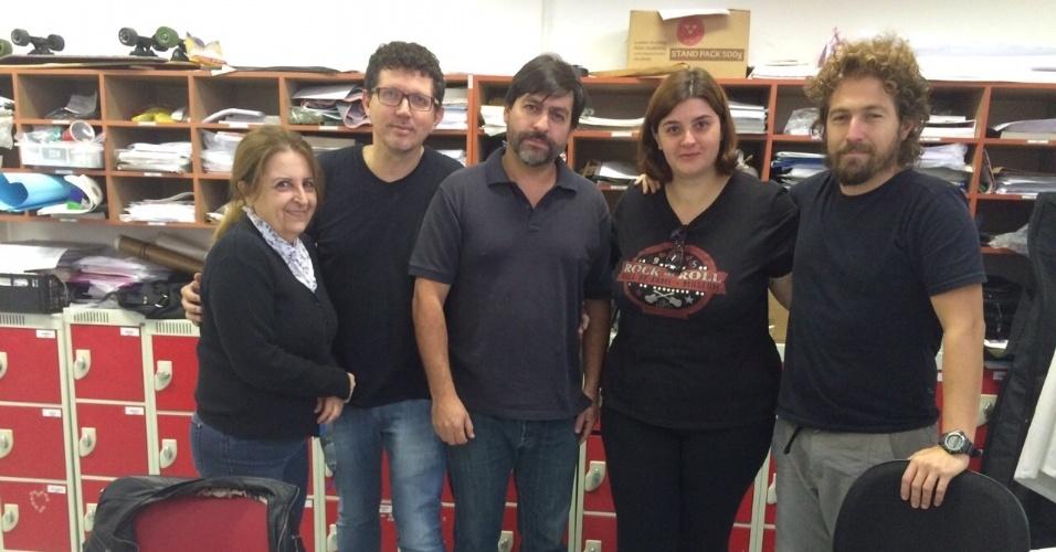 Professores de uma escola da rede privada de São Paulo