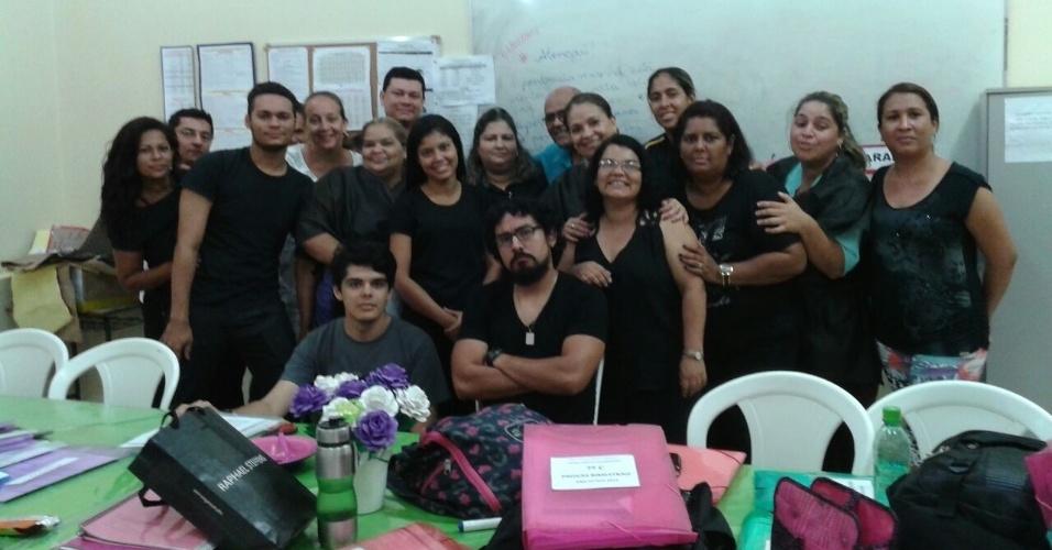 Professores do Centro da Escola Padre Carlos Casavecchia - Rio Branco (AC)
