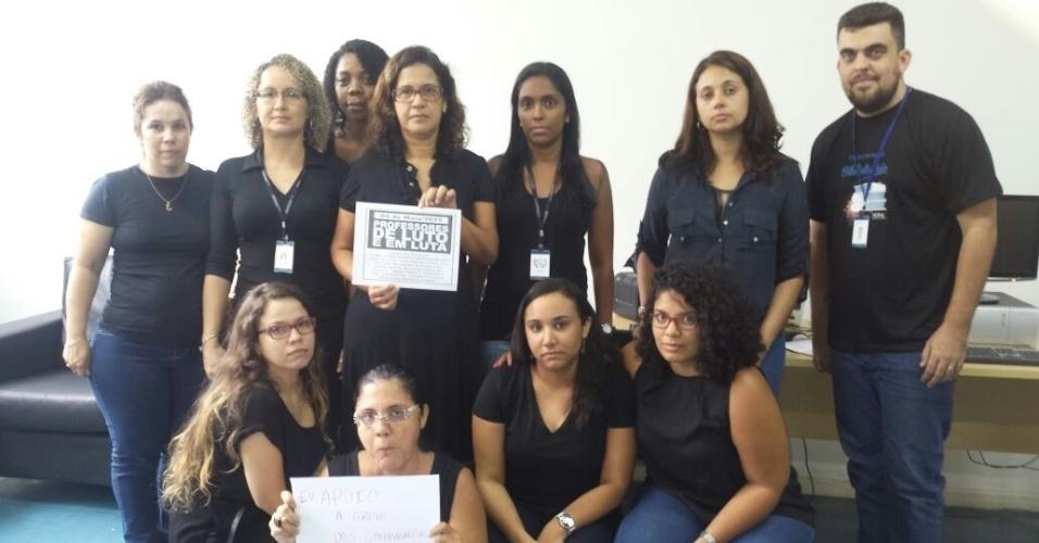 Professores do Colégio Pedro II - Campus Realengo I, no Rio de Janeiro (RJ)
