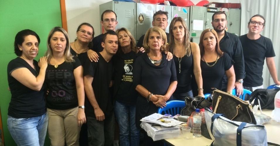 Profissionais da educação no Rio