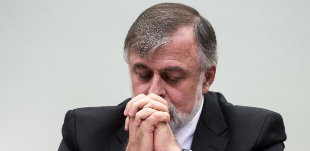 O ex-diretor de Abastecimento da Petrobras Paulo Roberto Costa depõe na CPI da Petrobras, na Câmara, em maio de 2015