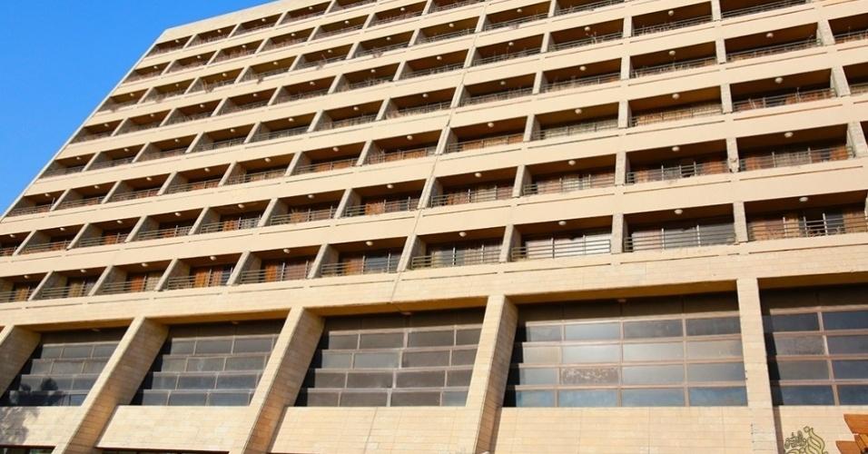 6.mai.2015 - O Estado Islâmico abriu seu próprio hotel de luxo na segunda maior cidade do Iraque, Mosul para hospedar os membros do grupo extremista para visitas à região