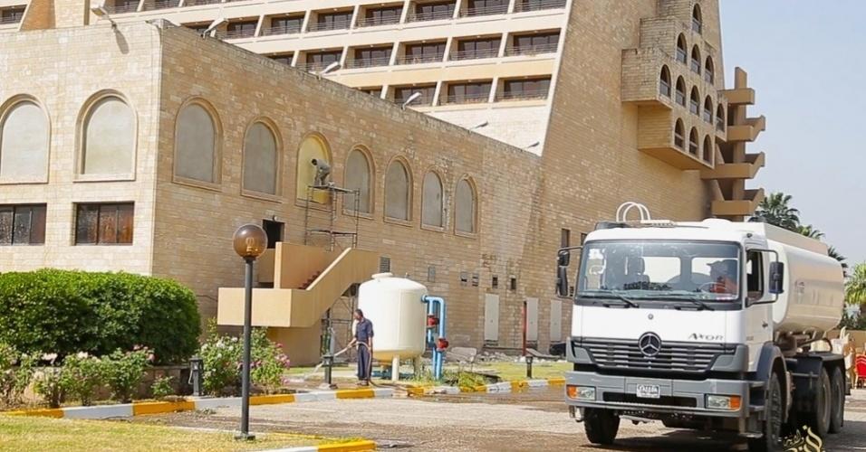 6.mai.2015 - O hotel passou por uma reforma para sua reabertura em 1º de maio