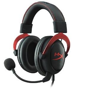 A segunda geração de headphones da Kingston HyperX conta com fio que controla áudio e microfone  - Divulgação