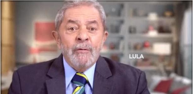 Lula participou do programa de TV do PT veiculado no dia 5 de maio