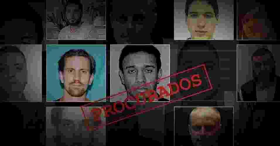 Procurados pelo FBI - Arte UOL
