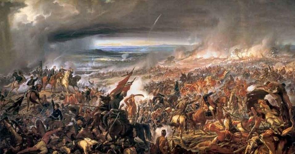 A batalha de Avaí ocorreu em 11 de dezembro de 1868. O quadro de Pedro Américo retrata esta que foi uma das importantes vitórias brasileiras na Guerra do Paraguai. O papel desempenhado pelos soldados negros no conflito contribuiu para engajar o Exército nacional na causa abolicionista