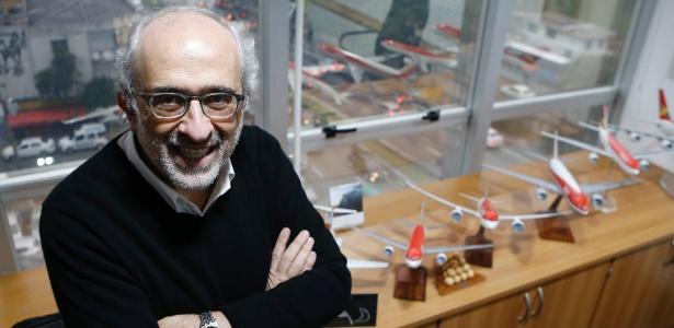José Efromovich, presidente da Avianca Brasil, em seu escritório em São Paulo - Junior Lago/UOL